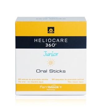 Heliocare 360 oral stick infantil 20 sobres