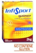INFISPORT GAINER CON L-CARNITINA CHOCOLATE 2KG