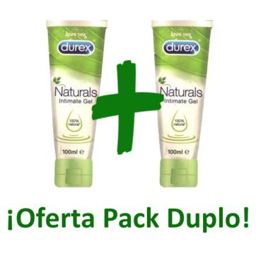 Durex Naturals Intimate Gel lubricante 200ml pack duplo