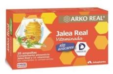 Arkopharma jalea real sin azucar 20 ampollas