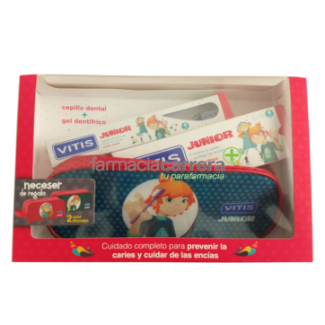 Vitis cepillo dental junior pack cuidado dientes