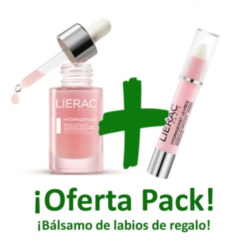 Lierac Hydragenist serum facial pack regalo