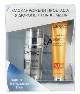 Lierac pack anti-manchas crema facial lumilogie + crema solar sunissime