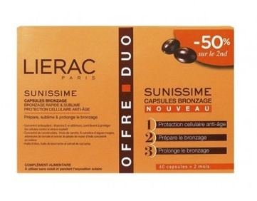Lierac Sunissime Capsulas Bronceado 60+60