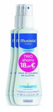 Mustela oferta Agua de colonia pack trio