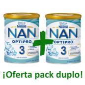 Nestle nan optipro 3 leche infantil pack oferta duplo