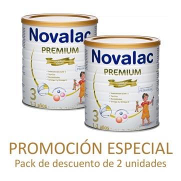Novalac Premium leche de crecimiento 3 pack promocional