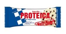 NUTRISPORT BARRITA PROTEICA VAINILLA - COOKIES