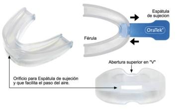 Oratek ferula bucal anti-ronquidos 1 unidad