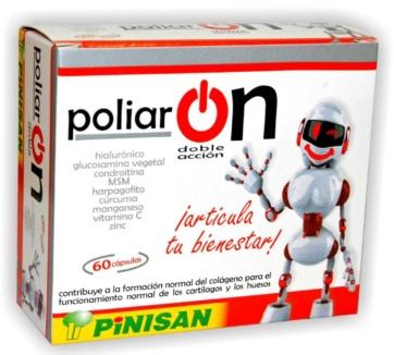 Pinisan Poliaron Doble Accion Complemento Natural capsules