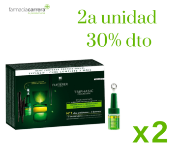 Rene furterer triphasic ampollas caida progresiva pack ahorro