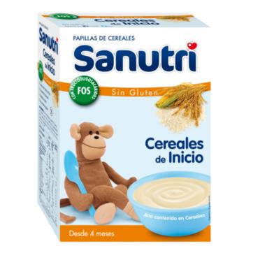 Sanutri cereales sin gluten bifidus 600gr comprar y ofertas - Cereales sin gluten bebe 3 meses ...
