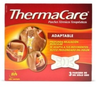 THERMACARE ADAPTABLE PARCHES TÉRMICOS 3 PARCHES