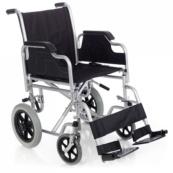 Silla de ruedas de acero plegable
