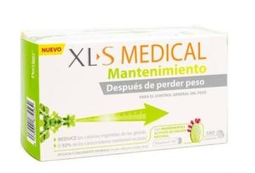 Xls Medical Mantenimiento 180 comprimidos - Parafarmacia | Adelgazar con XLS