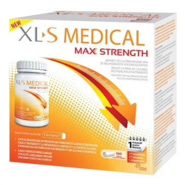 Xl-s medical max strength adelgazar 120 comprimidos