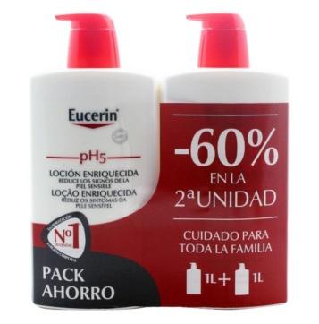 Eucerin locion enriquecida pack oferta duplo