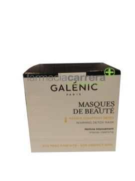 Galenic masques de beaute mascarilla facial detox efecto calor 50ml