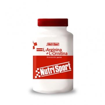 Nutrisport L-Arginina + L-Ornitina 100 capsulas