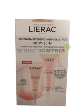 Lierac Duo Body Slim Cryoactif + Body Slim Reductor programa anticelulitis