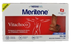 MERITENE VITACHOCO TABLETAS CHOCOLATE CON LECHE