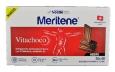 MERITENE VITACHOCO TABLETAS CHOCOLATE NEGRO