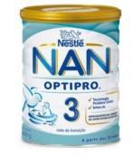 NESTLE NAN 3 OPTIPRO LECHE DE CRECIMIENTO 800GR