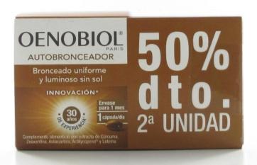 Oenobiol Capsulas Bronceadoras para la piel