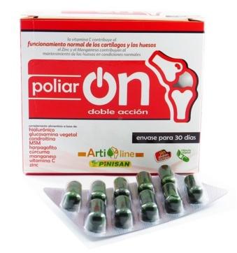 Pinisan Poliaron Doble Accion Complemento Natural capsulas