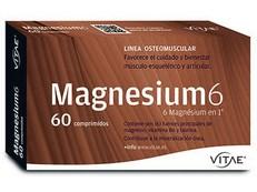 VITAE MAGNESIUM 6 60 COMPRIMIDOS