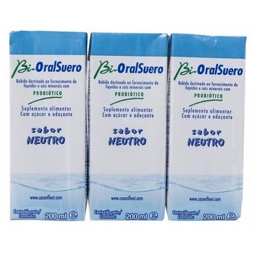 BIORALSUERO NEUTRO PACK 3 X 200ML