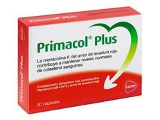 PRIMACOL PLUS - ARROZ LEVADURA ROJA- 30 CÁPSULAS