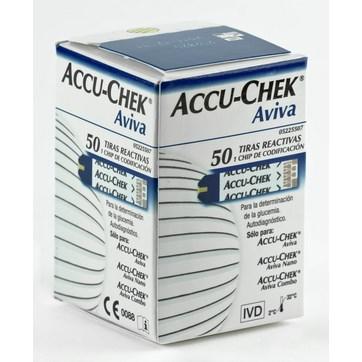 ACCU CHEK AVIVA 50 TIRAS