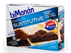 BIMANAN BARRITA CHOCOLATE FONDANT 8 UNIDADES