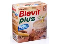 BLEVIT PLUS DUPLO 8 CEREALES GALLETAS 700GR