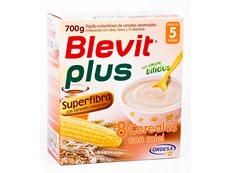 BLEVIT PLUS SUPERFIBRA 8 CEREALES MIEL 700GR