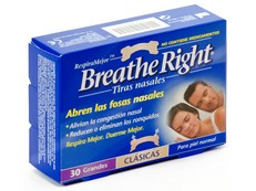 BREATHE RIGHT GRANDE 30 TIRAS NASALES