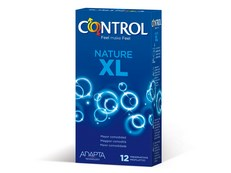 CONTROL ADAPTA XL PRESERVATIVOS 12 UNIDADES