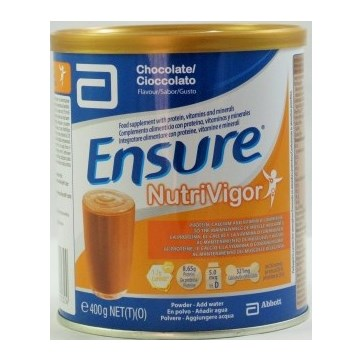 ENSURE NUTRIVIGOR SABOR CHOCOLATE 400GR.