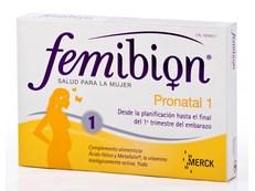FEMIBION PRONATAL 1 30 COMPRIMIDOS