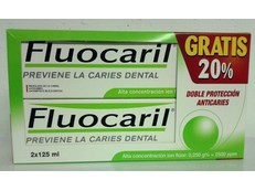 FLUOCARIL PASTA DENTAL ANTI-CARIES PACK 2x125ML