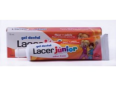 LACER JUNIOR FRESA GEL DENTÍFRICO 75ML