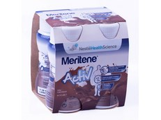 MERITENE ACTIV 125 ML 4 BOTES CHOCOLATE