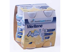 MERITENE ACTIV 125 ML 4 BOTES VAINILLA
