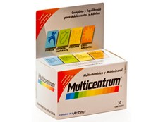 MULTICENTRUM VITAMINAS 30 COMPRIMIDOS