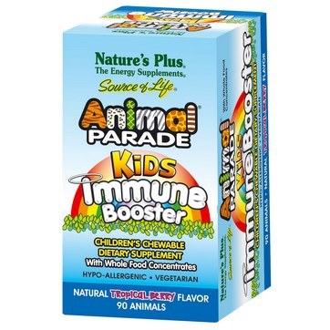 NATURE'S PLUS ANIMAL PARADE KIDS INMUNE BOOSTER 90 COMPRIMIDOS