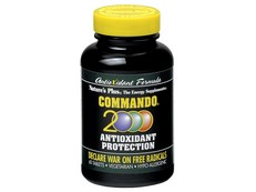 NATURE'S PLUS COMMANDO 2000 60 COMPRIMIDOS