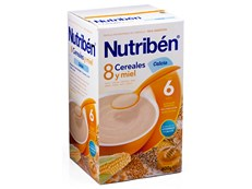 NUTRIBEN 8 CEREALES CALCIO MIEL 600GR
