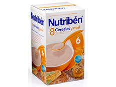 NUTRIBEN 8 CEREALES CON MIEL 500GR