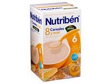 NUTRIBEN 8 CEREALES MIEL BIFIDUS 600GR